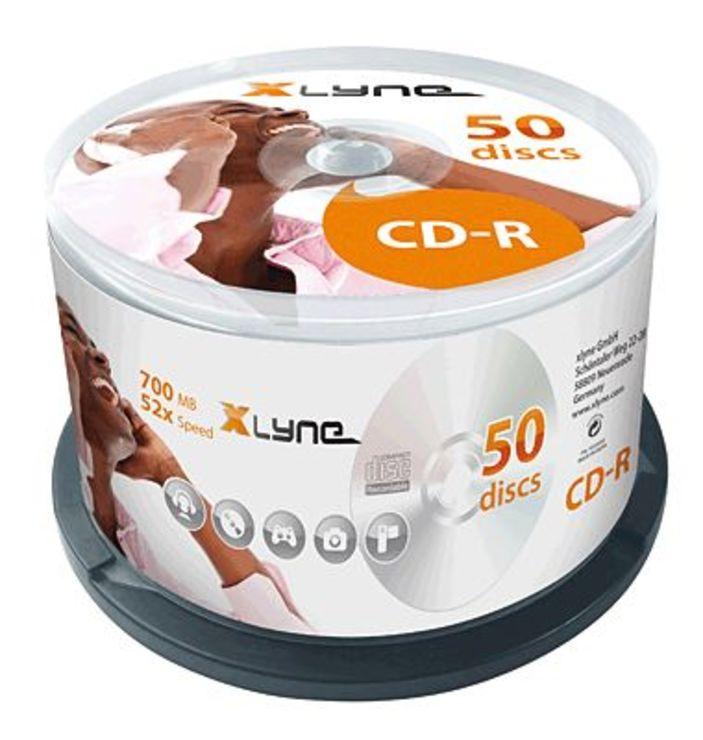 Xlyne CD-Rohlinge/1050000 52x 50