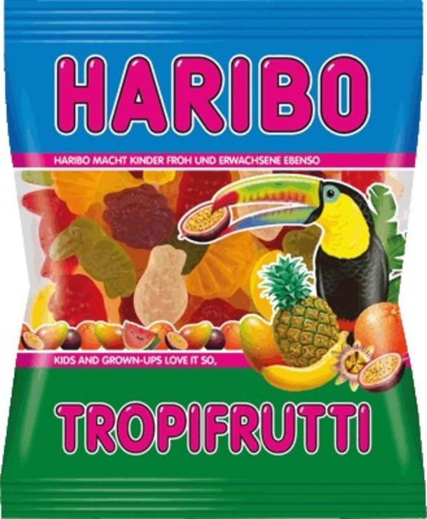 HARIBO Tropi Frutti/745502, Fruchtgummi, Inh. 2...