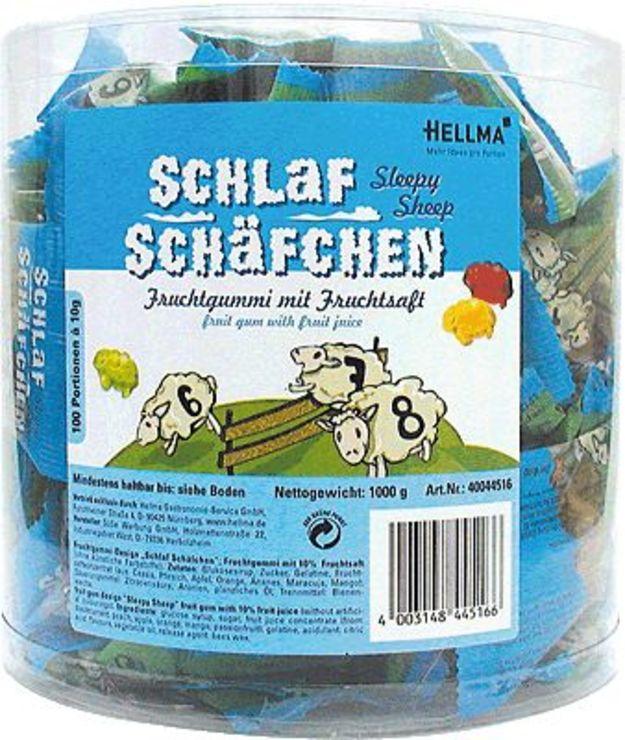 HELLMA Fruchtgummi Schlafschäfchen/70000114, In...