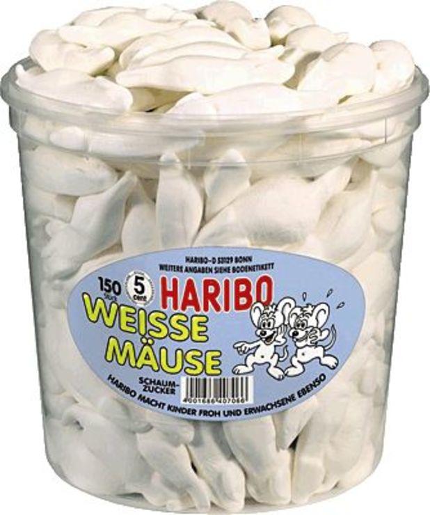 HARIBO Weiße Mäuse/825658, Inh. 150