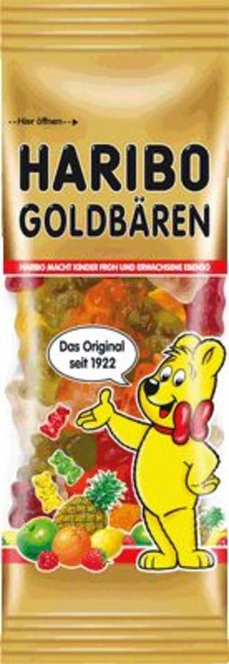 HARIBO Mini Goldbären/362205 Inh. 14x 75 g