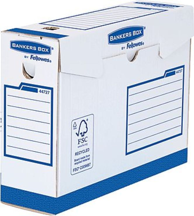 BANKERS BOX® Basic Heavy Duty Archivschachtel/4...