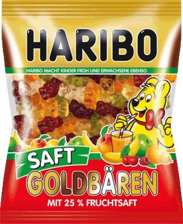 HARIBO Saft Goldbären/745742, Fruchtgummi, Inh....
