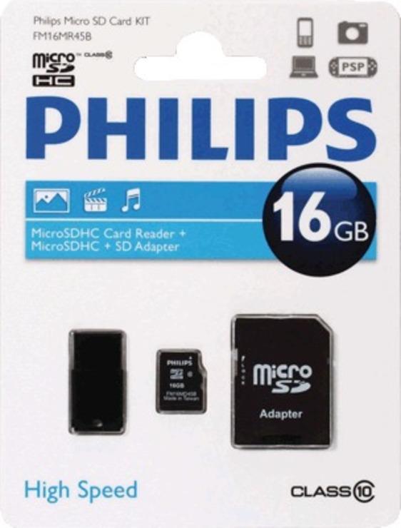 Philips Micro SDHC Card 32 GB 3 in 1/FM32MR45B/...
