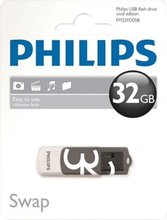 Philips USB-Stick Vivid 32 GB/FM32FD05B/10 USB 2.0