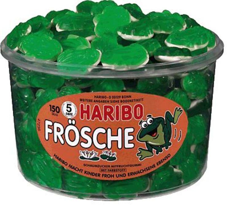 HARIBO Frösche/379999, Fruchtgummi, Inh. 150