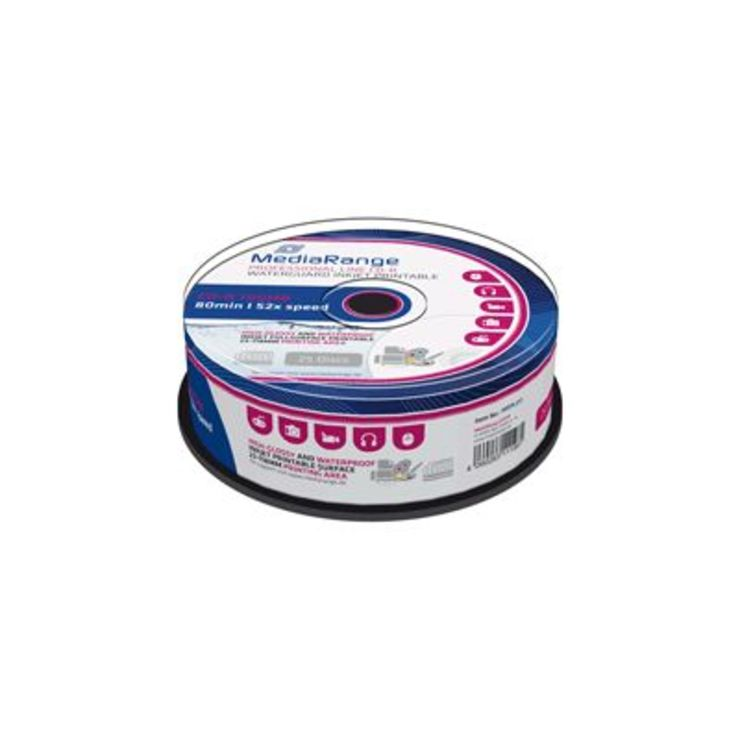 MediaRange CD-R Rohlinge/MRPL512 52x 80 Min. 70...