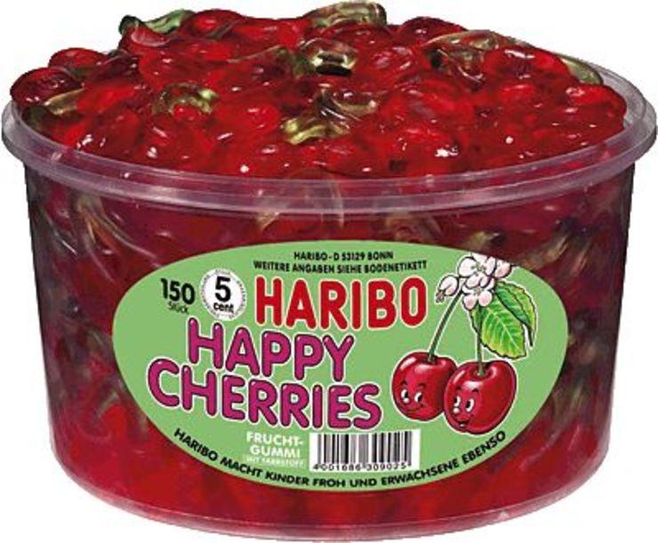 HARIBO Happy Cherries/871956, Fruchtgummi, Inh....