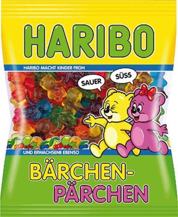 HARIBO Bärchen-Pärchen/744925 175 g Bärchen-Pär...