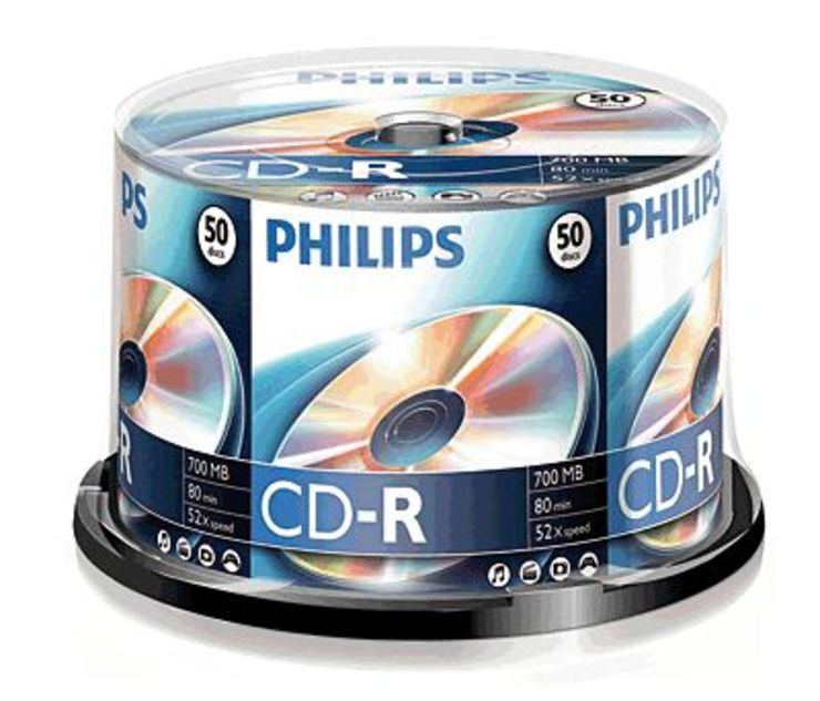Philips CD-R Rohlinge/CR7D5NB50/00 50