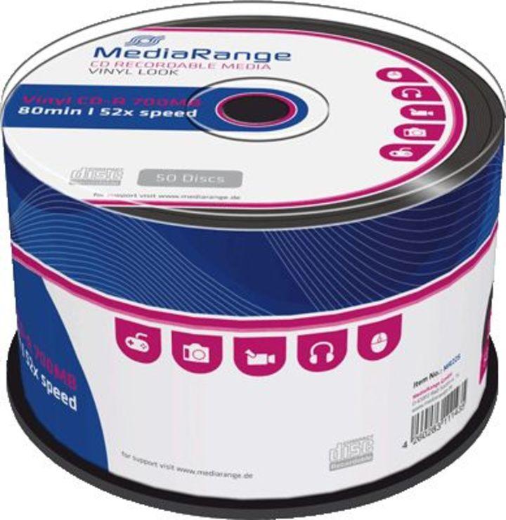 MediaRange CD-R Rohlinge/MR225 52x Inh. 50 Stk