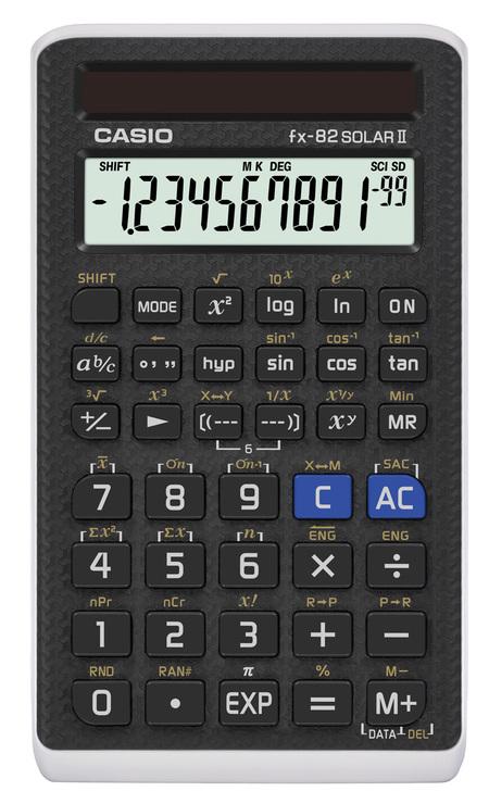 CASIO® Taschenrechner FX-82SOLARII, 144 Funktio...