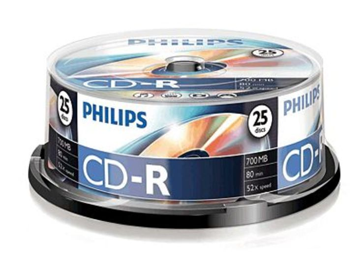 Philips CD-R Rohlinge/CR7D5NB25/00 25
