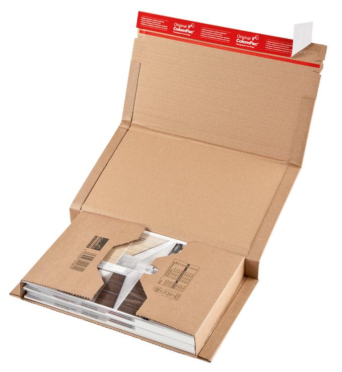 ColomPac® Versandverpackung, 325x250xvariabel b...