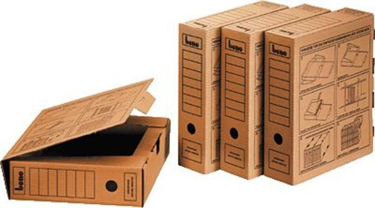 bene Archivschachtel/096900, natron, A4