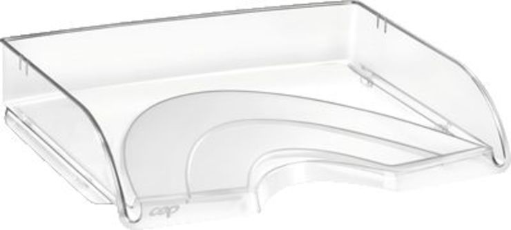 CEP Briefkorb CEPPro/135-2klar quer B 35,1 x H 6,9 x T 26cm glasklar