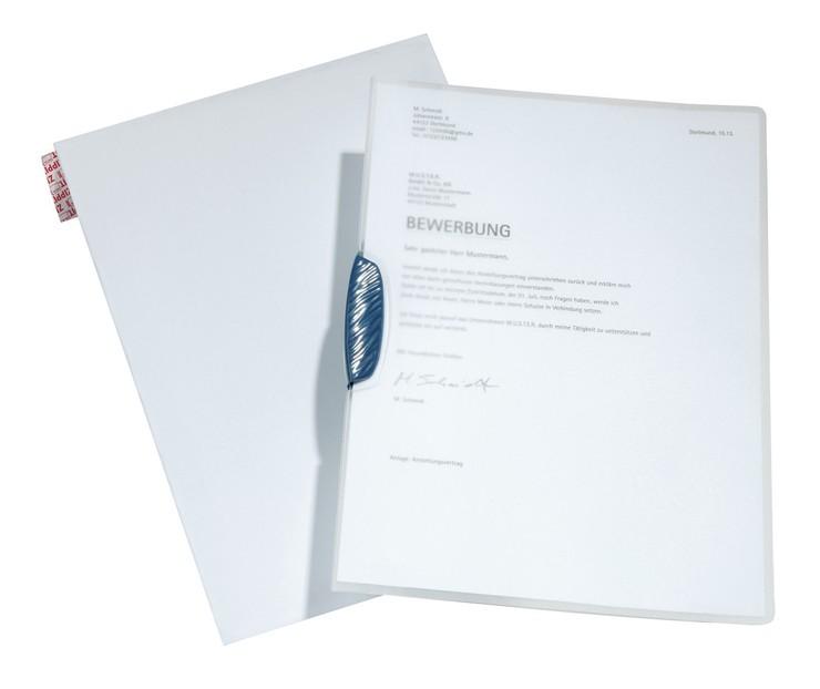 DURABLE Bewerbungs-Set Swingclip®, PP-Hartfolie...