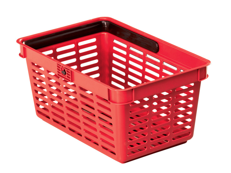 DURABLE Einkaufskorb SHOPPING BASKET 19, stapel...