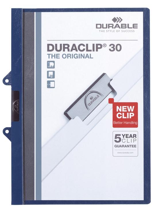 DURABLE Klemmmappe DURACLIP® 30 EASY FILE, Kuns...