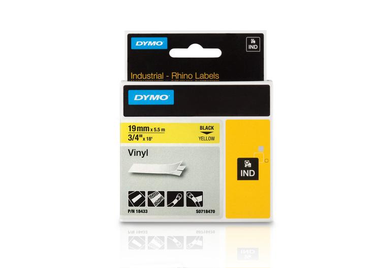 DYMO® Vinylband Industrieband, PVC, laminiert, ...