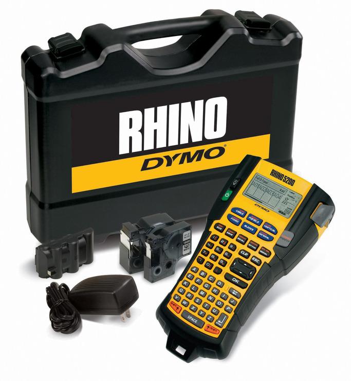 DYMO® Rhino 5200 im stabilen Hartschalenkoffer,...