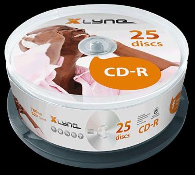 Xlyne CD-Rohlinge/1025000 52x 25