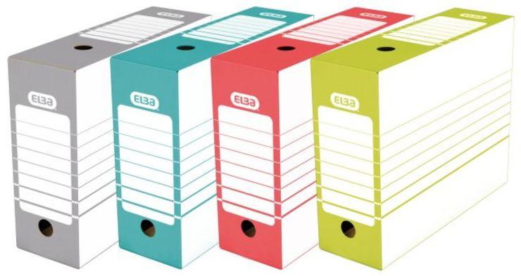 ELBA Ablageschachtel tric 10 cm, Archiv-Box fue...