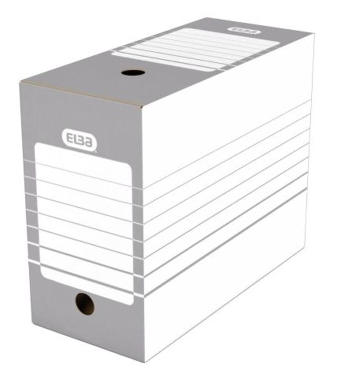 ELBA Ablageschachtel tric 15 cm, Archiv-Box fue...