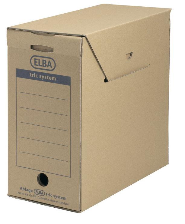 ELBA Archiv-Box Standatd tric system, Wellpappe...