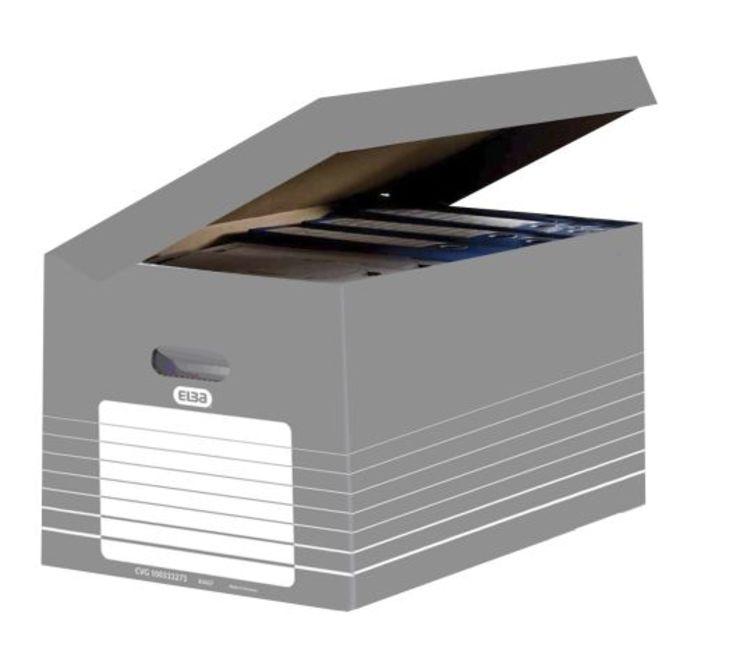 ELBA Ordnungsbox mit Klappdeckel, zur Archivier...