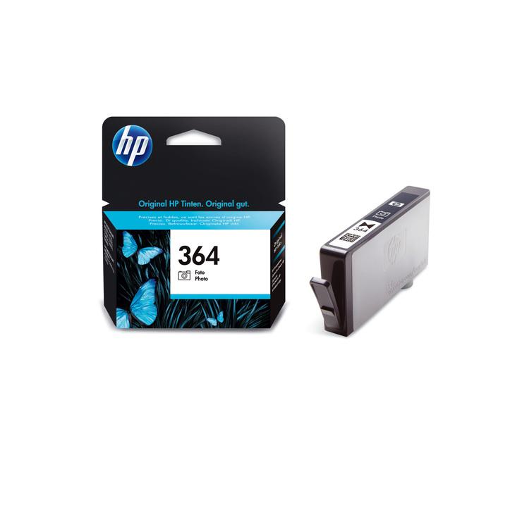 HP 364 Tintenpatrone schwarz Foto, für ca. 130 ...