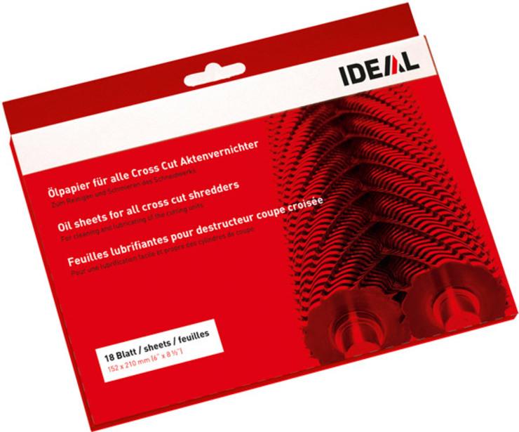 IDEAL Ölpapier zum Reinigen und Schmieren von C...