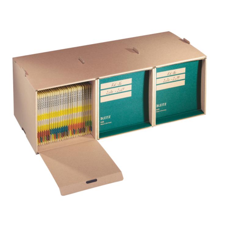 Leitz Archiv-Depot, A4, naturbraun