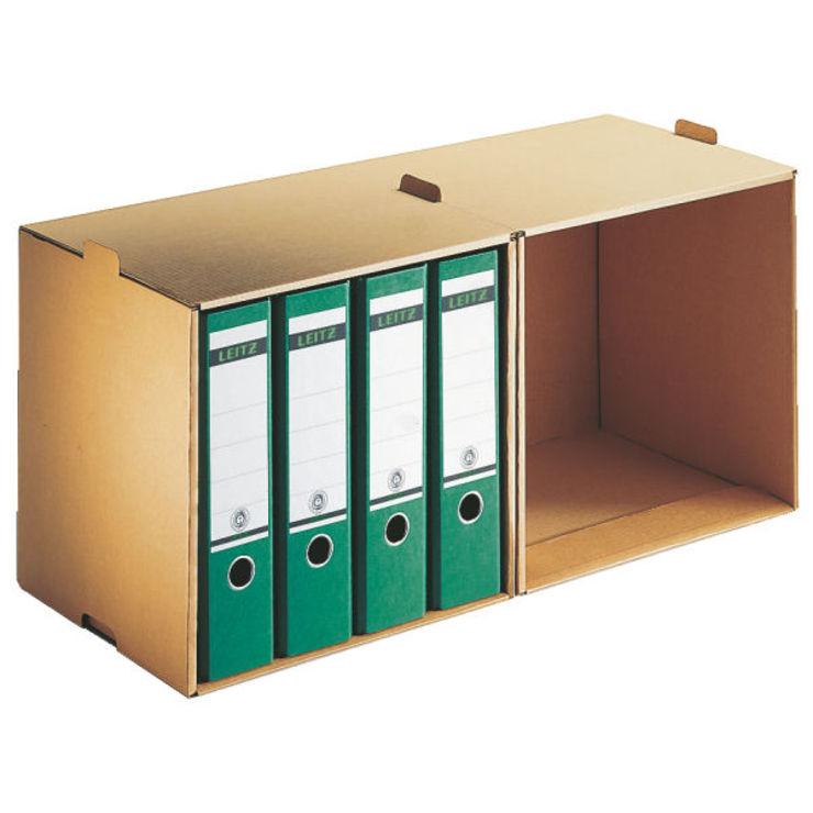 Leitz Archiv-Depot Ordner, A4, vorne offen, nat...