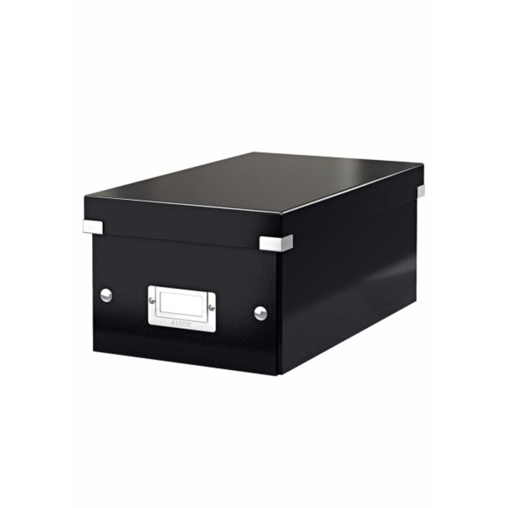 Leitz Archivbox Click & Store DVD, Graukarton, ...
