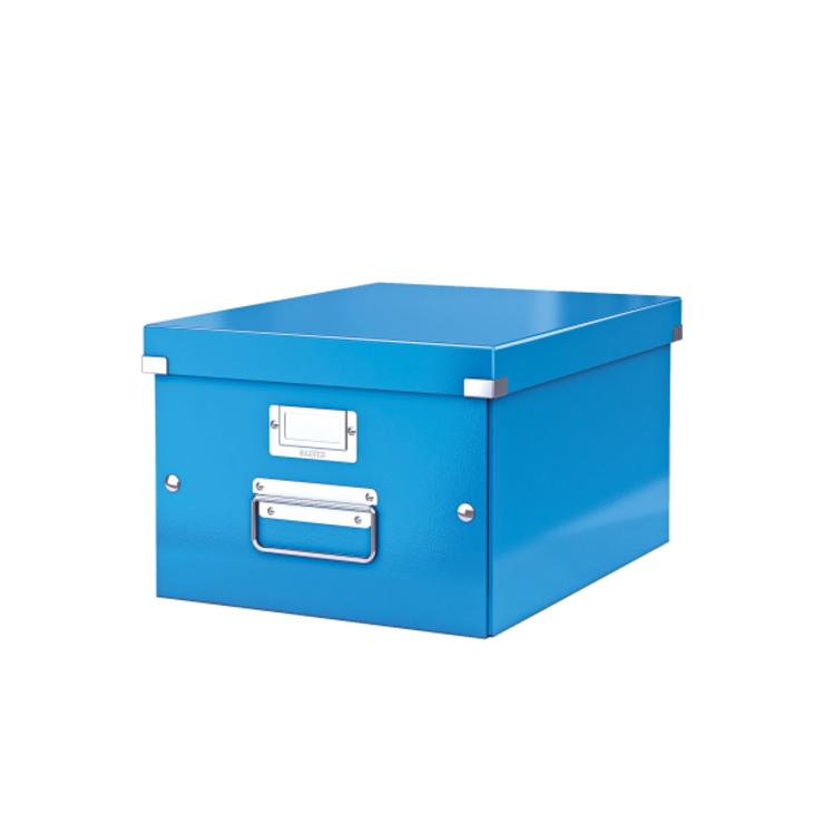 Leitz Archivbox Click & Store mittel, Graukarto...