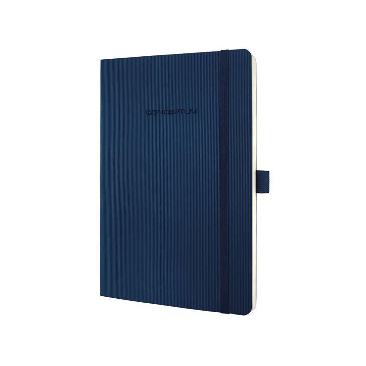 Sigel Notizbuch Conceptum ca. A5 194 S. Softcover kariert 80g midnight blue