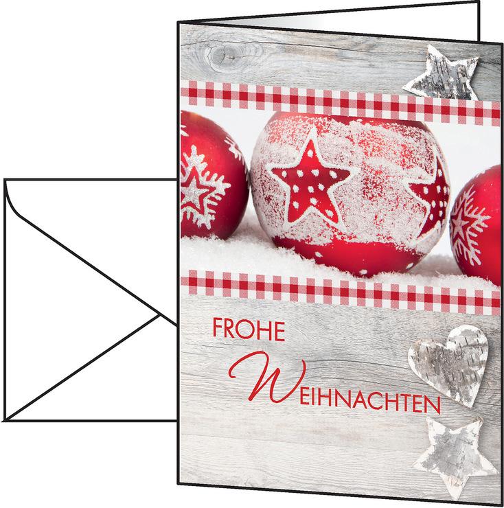 Sigel Weihnachts-Karte A6 220g 25+25St Winter F...