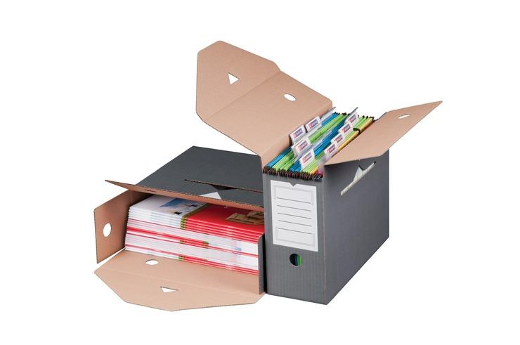 Smartbox Pro Archivbox für Hängemappen, Karton,...