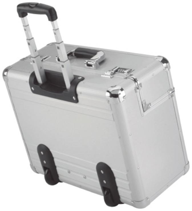 ALUMAXX® Alu Pilotenkoffer mit Trolleysystem OMEGA ...