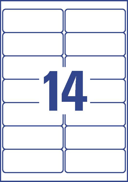Avery Zweckform 3657 Universal Etiketten