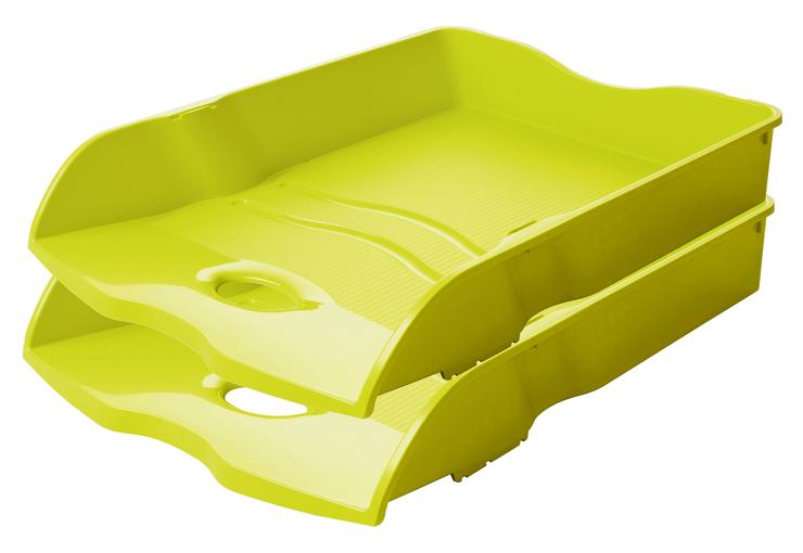 nestbar stapelbar Trend Colour orange DIN A4//C4 HAN Briefablage HAN LOOP stabil