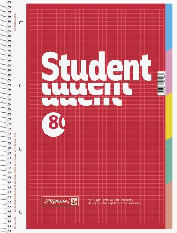 BRUNNEN Notizblock Collegeblock Student | Papersmart