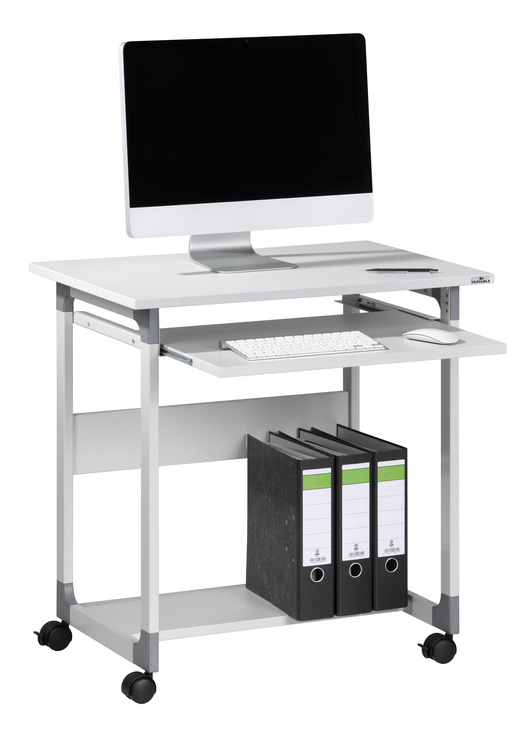 Computertisch mit rollen  DURABLE Computertisch SYSTEM TROLLEY 75 FH | Papersmart