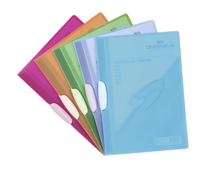 DURABLE Klemm-Mappe SWINGCLIP® COLOR   Papersmart