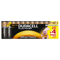 DURACELL Plus AA 20er +4