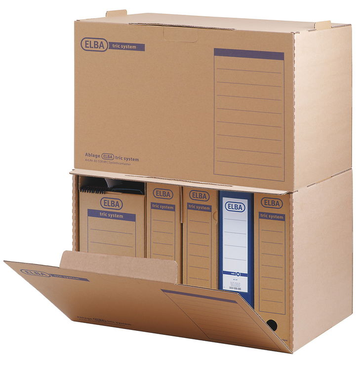 Schreibtischzubehör Alt : Elba systemcontainer tric system g?nstig kaufen papersmart