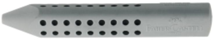 Faber Castell; #Radierer# 187100 Radierer GRIP 2001 grau
