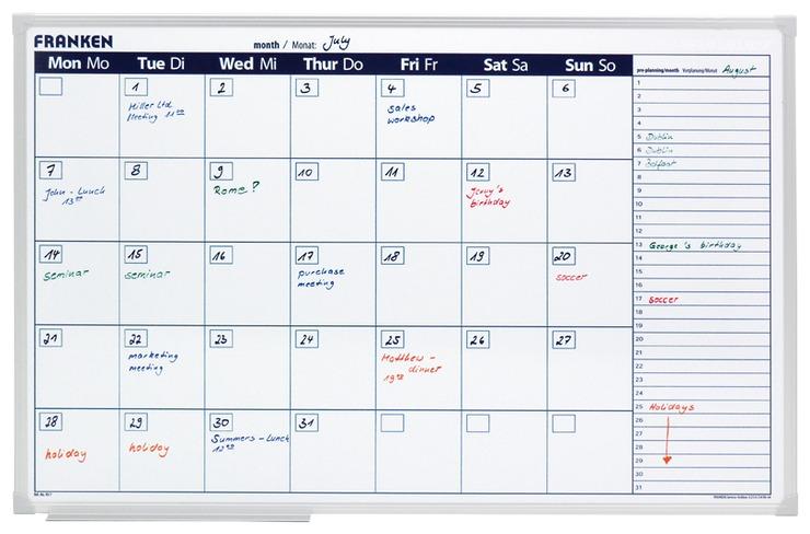 Franken X-tra! Line Kalender günstig kaufen | Papersmart