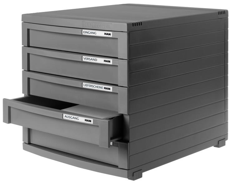 han schubladenbox contur g nstig kaufen papersmart. Black Bedroom Furniture Sets. Home Design Ideas